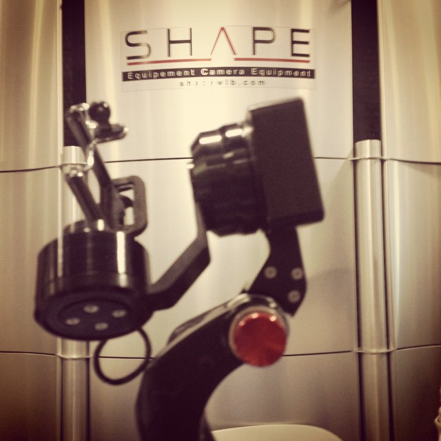 #shape #gyro handheld for #gopro #hero4 and others, coming soon