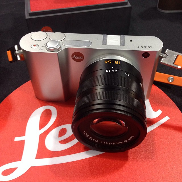 "#leica T, 16GB internal memory, 3.7"" touchscreen, wifi, and M-Adapter T available as well to use with leica m system"