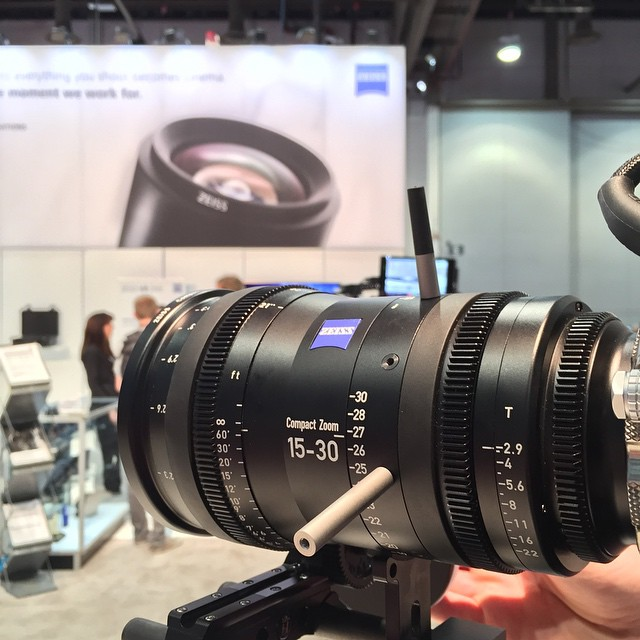 zeiss #cz 15-30mm zoom lens #NAB2015 #compact zoom #red T2.9 full ...