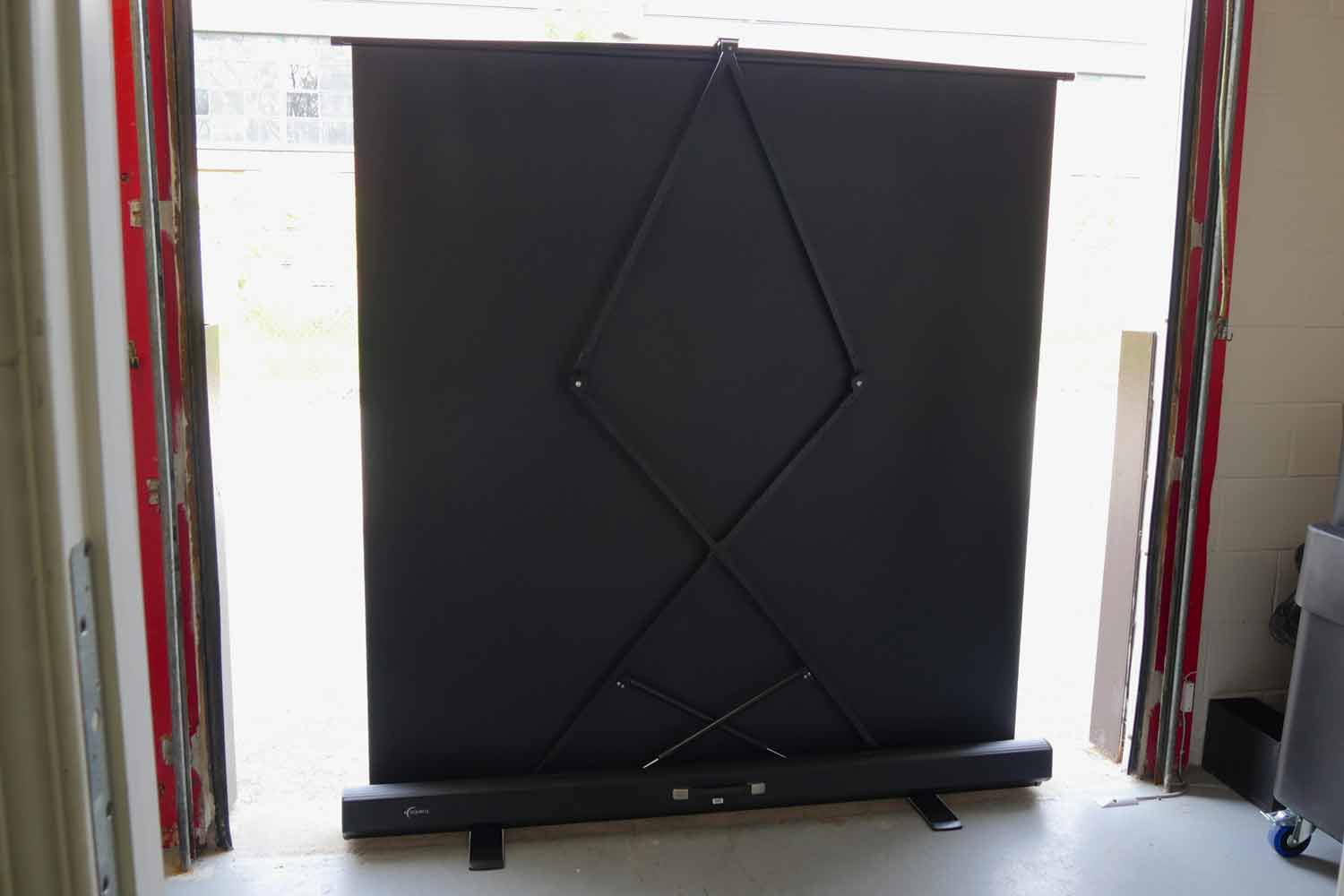4 X5 Front Airlift Projection Screen Good Dog Digital