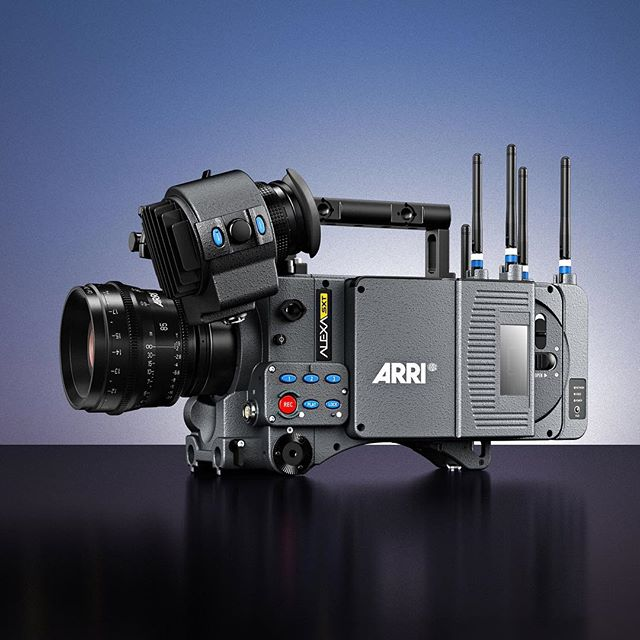 Arri ALEXA SXT WARRI has integrated a high-quality and low-latency